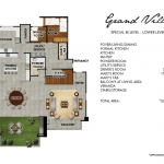 Grand Penthouse Floor Plan 1